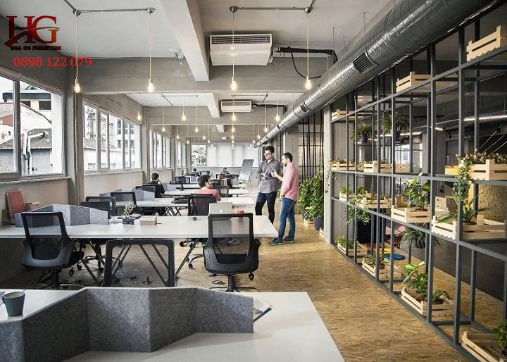 Thiết kế thi công nội thất văn phòng TP. HCM đẹp, đẳng cấp